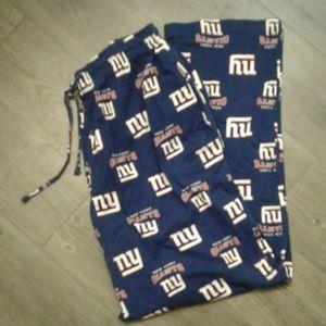 NY Giants PJ's